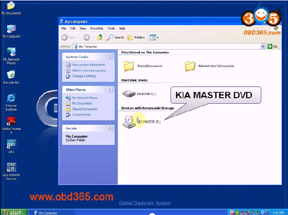 install Hyundai and Kia GDS VCI V15 software