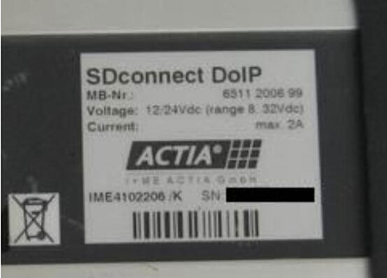 DOIP SDconnect