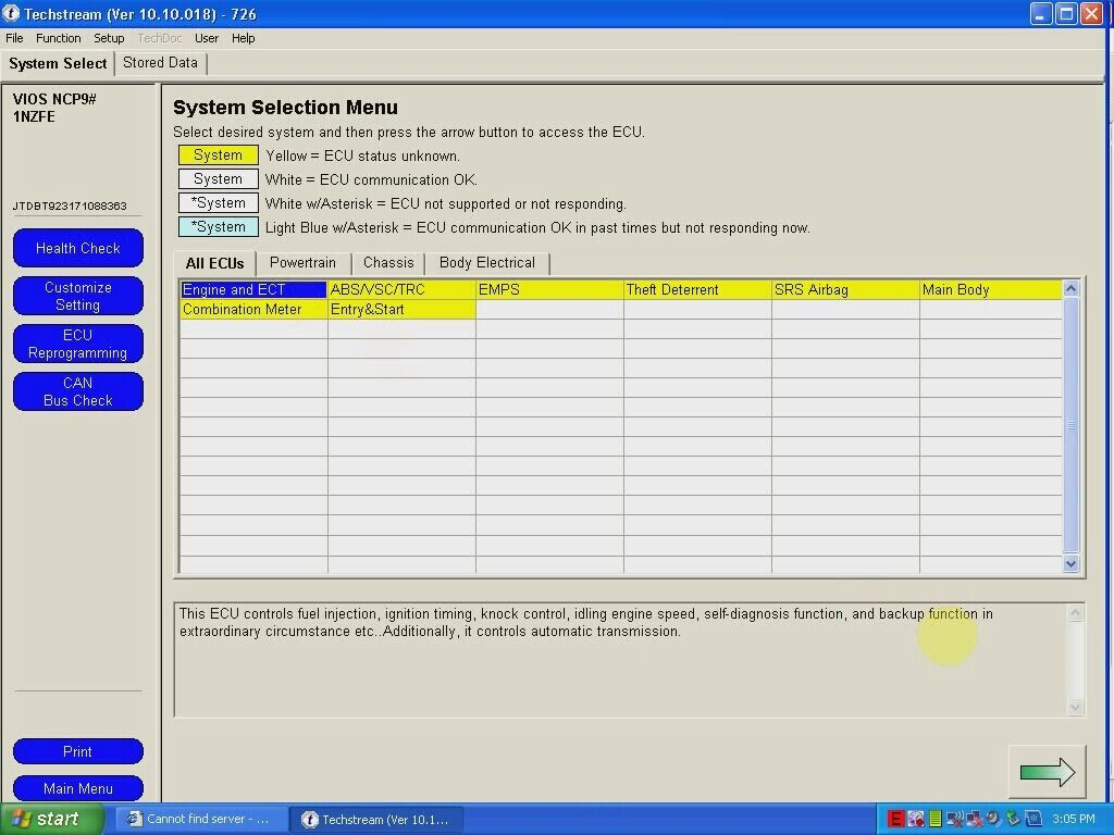 Free Download Toyota Tecshtream V10.10.018 software