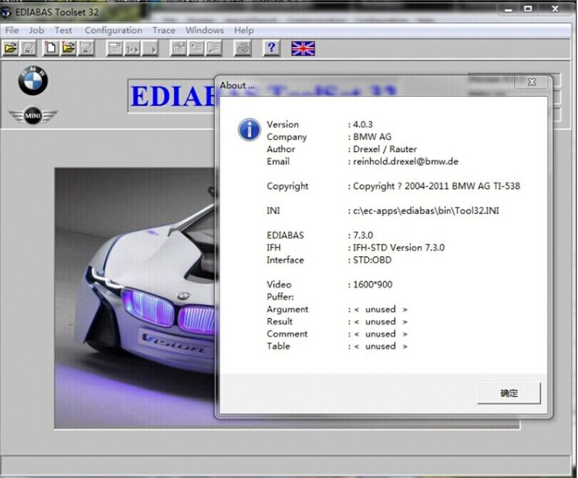 2015 Bmw Diagnostic Software Inpa E Sys Winkfp Ncs