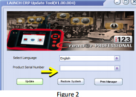 register and update Launch CRP123