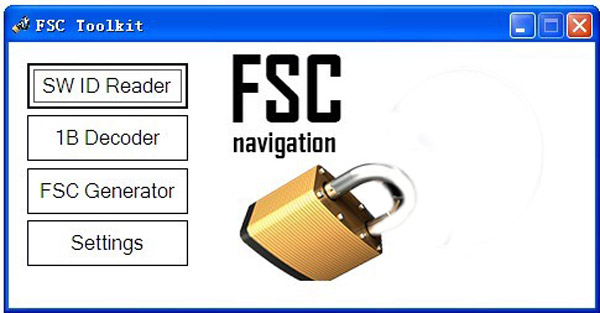FSC code calculator software