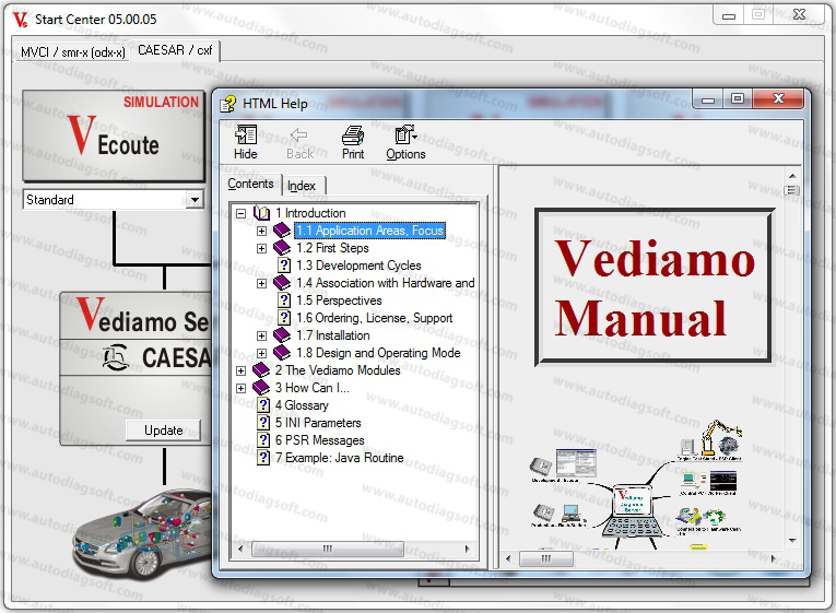 vediamo v5.00.05 user manual