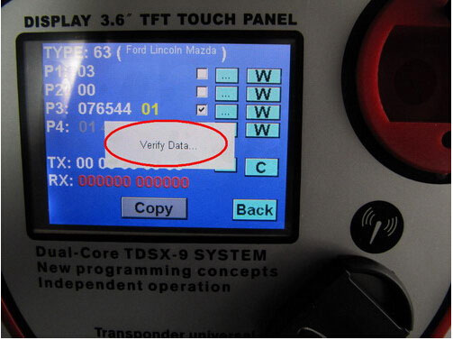 CN900 key programmer copy and decode ID63 by CN2