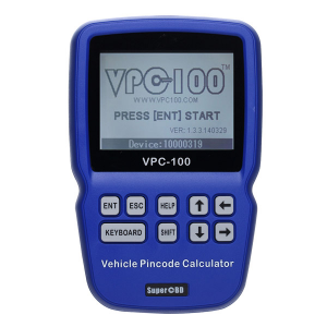 VPC-100 Hand-Held Vehicle Pin Code Calculator