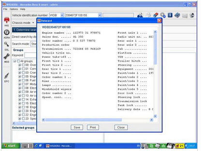 tar Diagnostic software