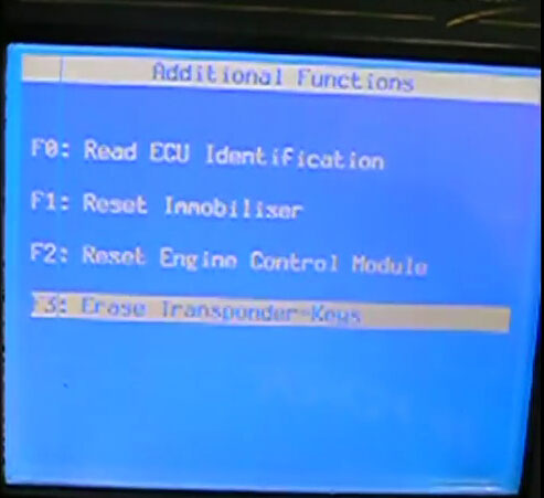 program Opel 2005 ECU with GM TECHⅡdiagnostic scanner