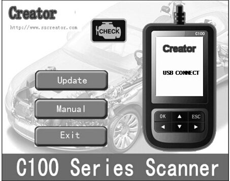 update BMW Creator C310 scanner to newest V4.5