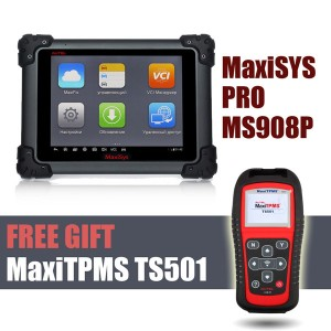 Autel MaxiSys MS908P Pro and get TPMS TS501 for FREE