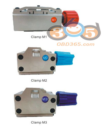 install Xhorse Condor XC-MINI cutter & clamp