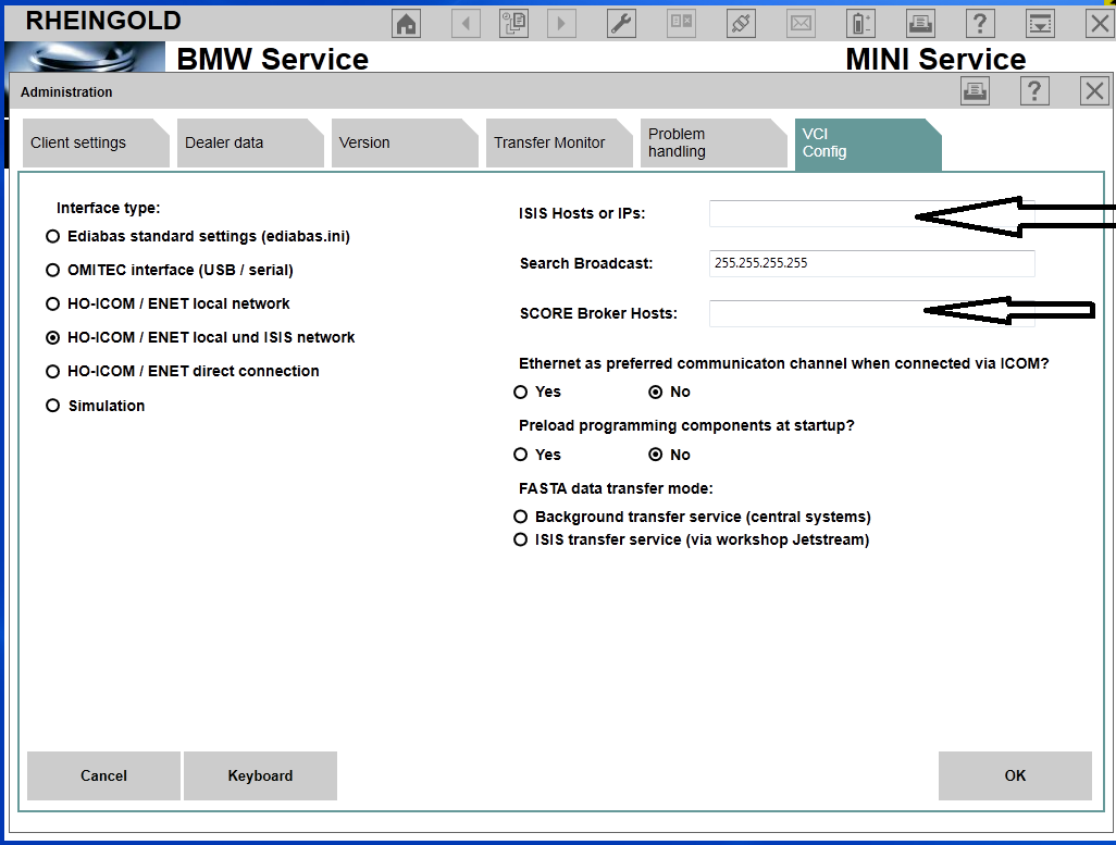 Bmw Ista D Rheingold 34410 Missing Isis Host Ip And Score Broker Wiring Diagrams