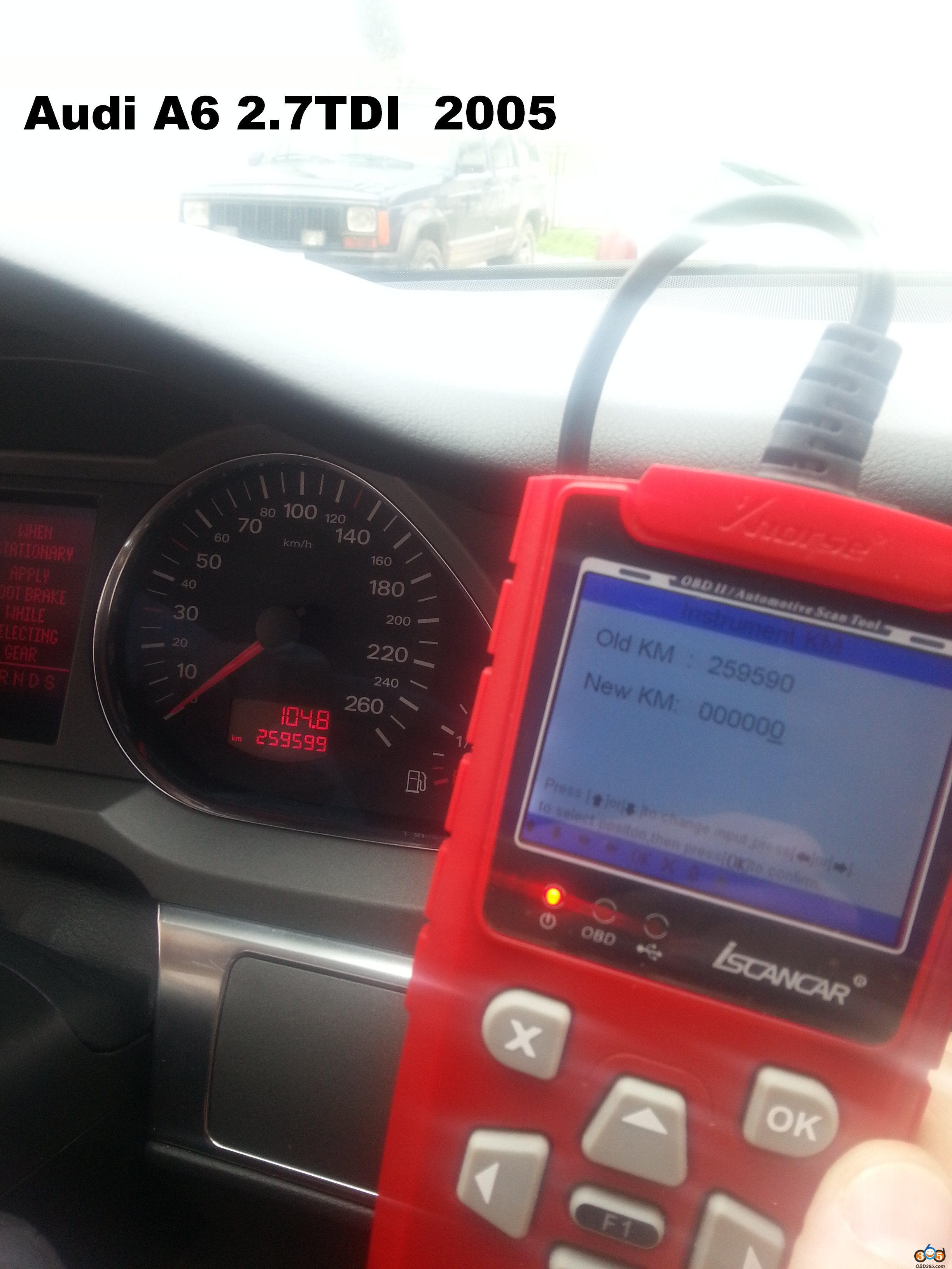 Super Vag Iscanner Odometer Dash Display Functions
