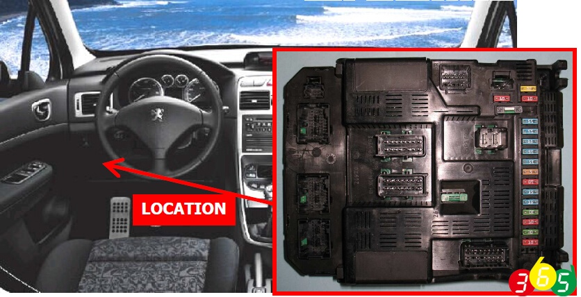 ecu chip tuning carprog xprog upa pinout to peugeot 307 bsi. Black Bedroom Furniture Sets. Home Design Ideas