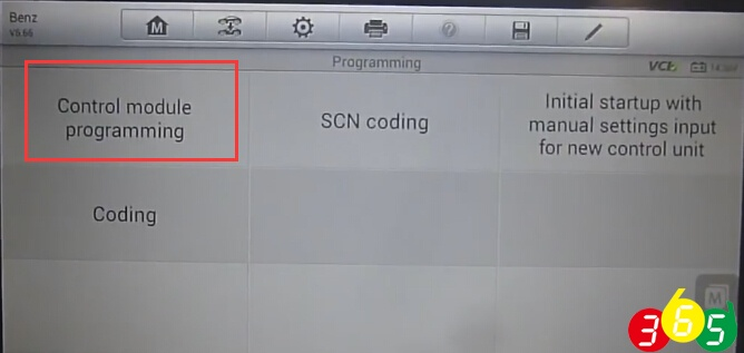 Mercedes online SCN coding with Autel MaxiSys Pro MS908P | OBDII365