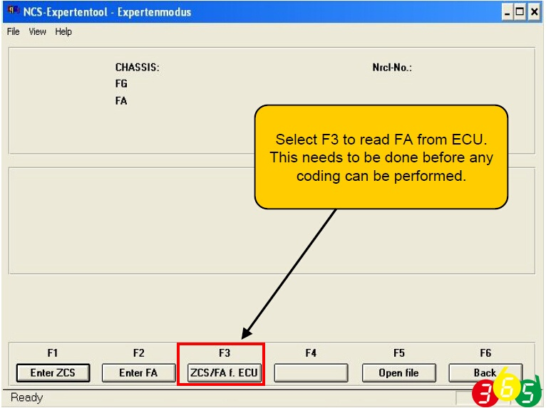 How to change BMW VO Vehicle Order by Ncs Expert | OBDII365 com