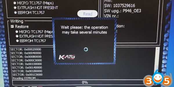 Ktag-clone-read-Opel-Insignia-ECU-EDC17C59-8