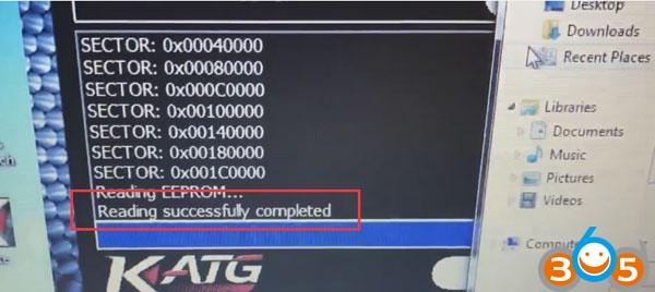 Ktag-clone-read-Opel-Insignia-ECU-EDC17C59-9