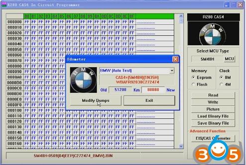 R280-BMW-CAS4-programmer-read-write-5M48H-eeprom-(10)