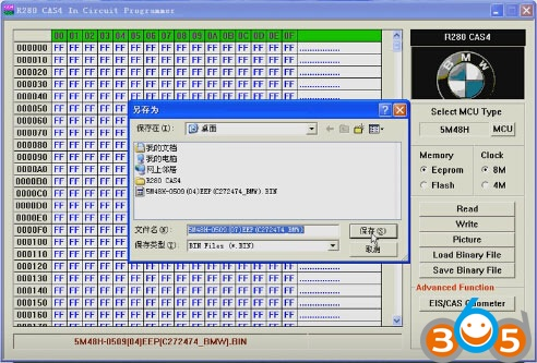 R280-BMW-CAS4-プログラマ - リード - ライト -  5M48H-EEPROM-(22)