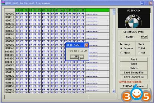 R280-BMW-CAS4-programmer-read-write-5M48H-eeprom-(8)