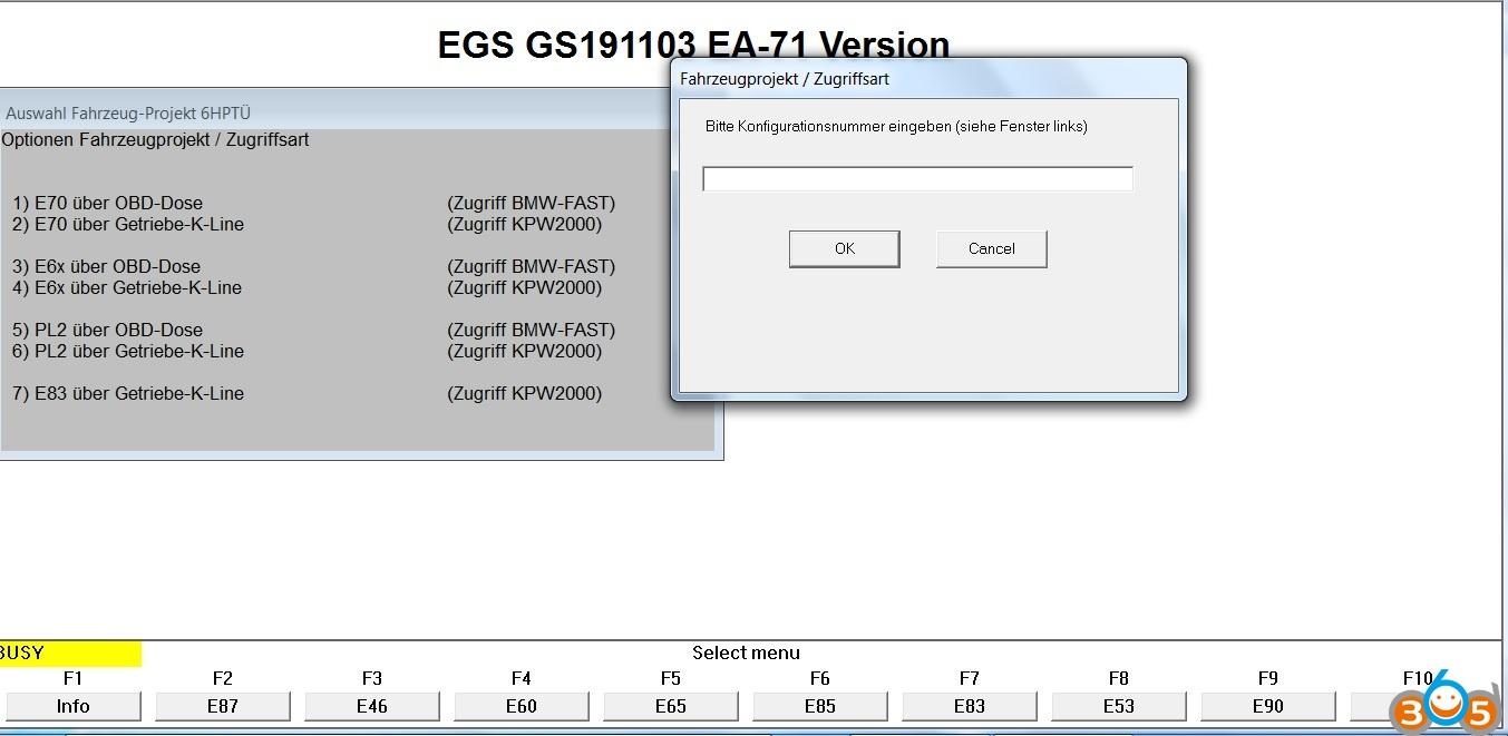 Reset BMW E92 335i Transmission via INPA K+DCAN | OBDII365 com