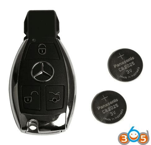 How to repair the Mercedes BGA key? (DIY guide) | OBDII365