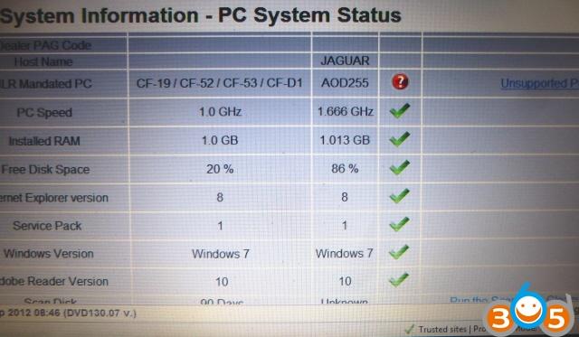 System-Status