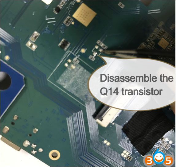 Disassemble The Q14 Transistor