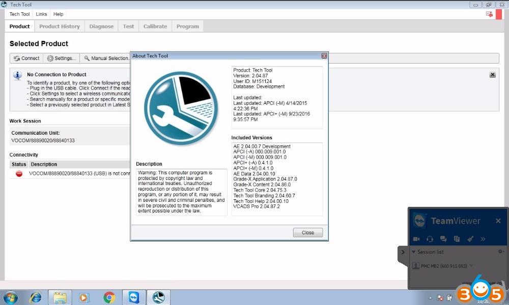 Premium Tech Tool 2.04.87 (TT / VCADS) +Activator+Devtool+FILE ENCRYPTOR/DECRYPTOR v0.2.1 [INSTALL UNLIMITED COMPUTER for volvo