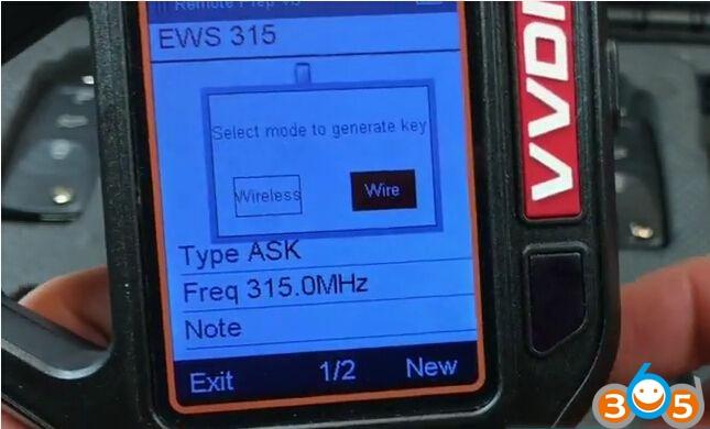 vvdi-key-tool-generate-bmw-ews-remote-key-315mhz-easy-5