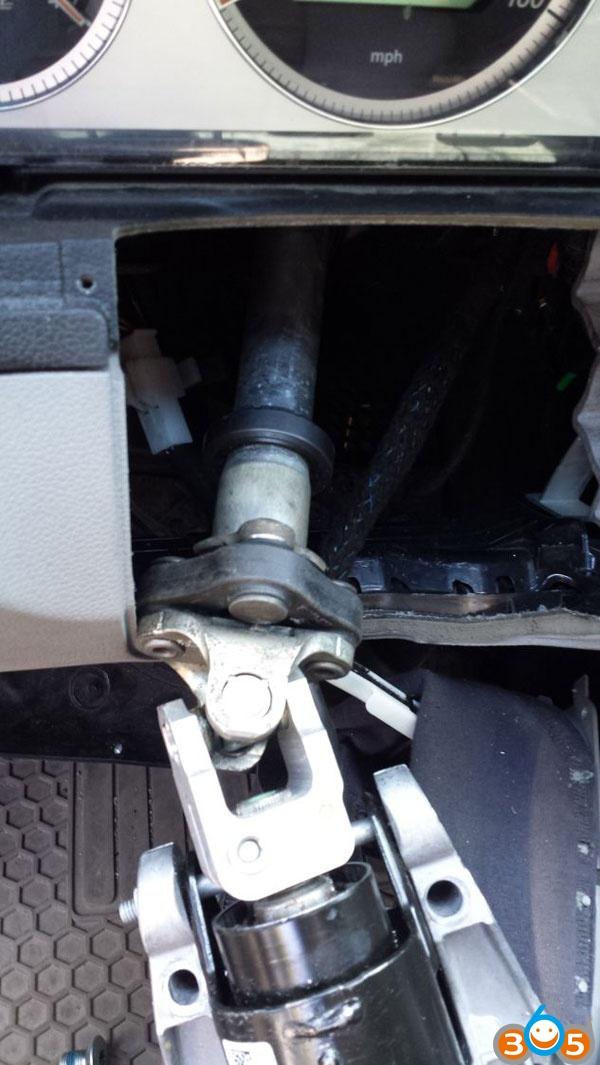 How to repair Mercedes W204 ESL/ELV steering wheel lock