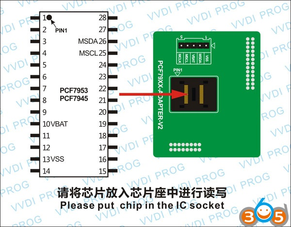 PCF7953-CHIP