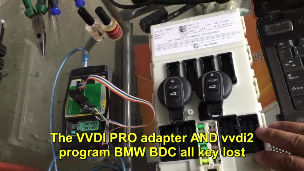 Vvdi pro adapter and vvdi2 program bmw bdc all key lost-02