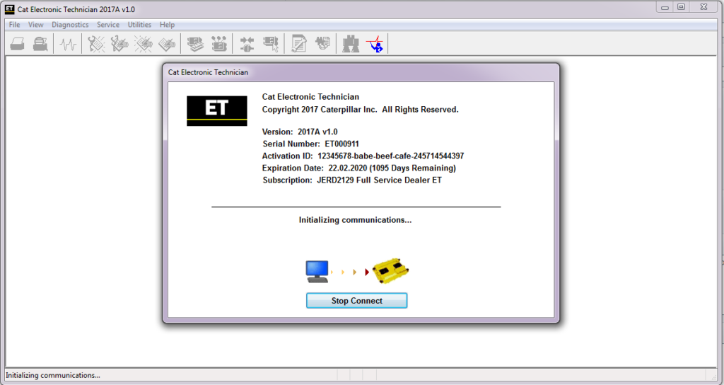 caterpillar-et-2017a-v1.0-diagnostic-software