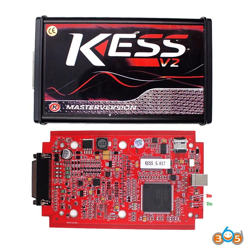kess-red-pcb