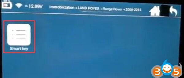 Lonsdor-K518ISE-ajouter-nouvelles-clés à Range-Rover (5)