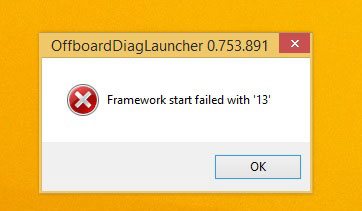 ODIS-Framework-start-failed