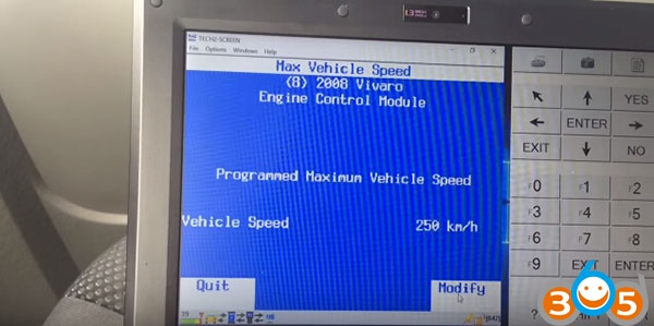 Vxdiag Vcx Nano GM Tech2Win Remove Speed Limiter Guide
