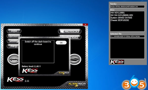 kess-disable-Mazda-RX-8-speed-limiter-14