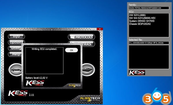 kess-disable-Mazda-RX-8-speed-limiter-15