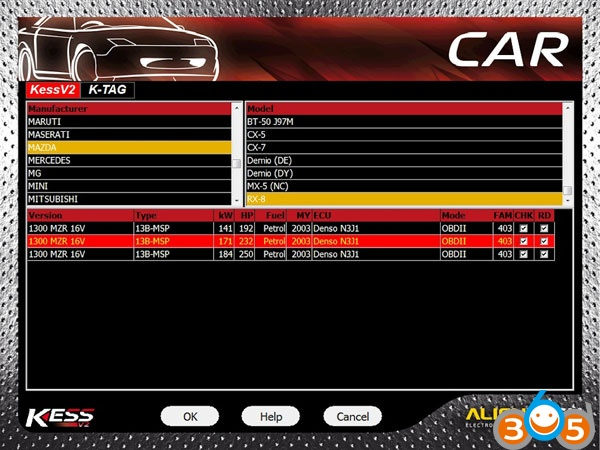 How to Disable Mazda RX-8 Speed Limiter with KESS V2