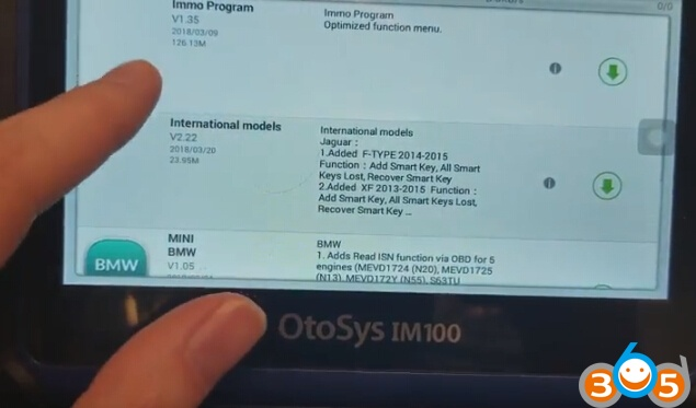 update-auro-otosys-im100-im600-2