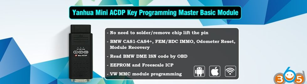 Yanhua-Mini-ACDP-Key-Programming-Master-Basic-Module-2