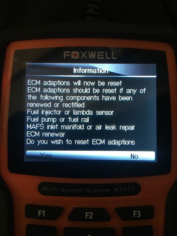 Foxwell NT510/NT520 Land rover Discovery Special Functions Review