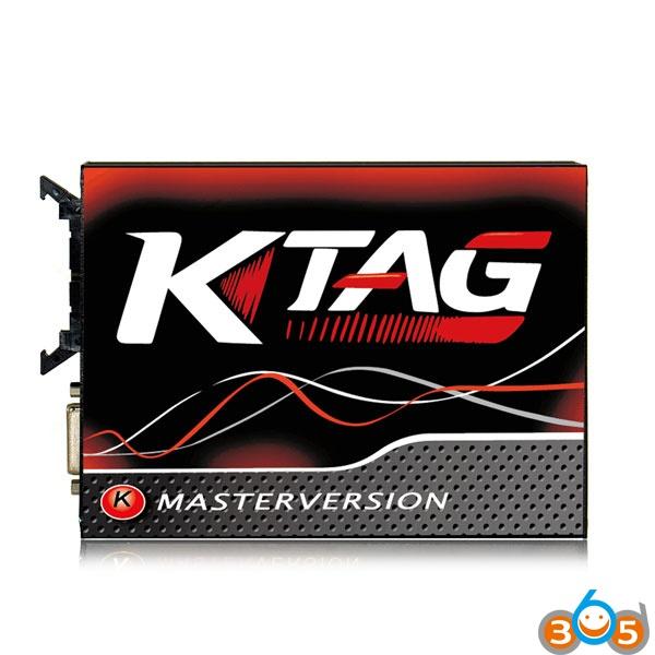 ktag-v7020-red-pcb