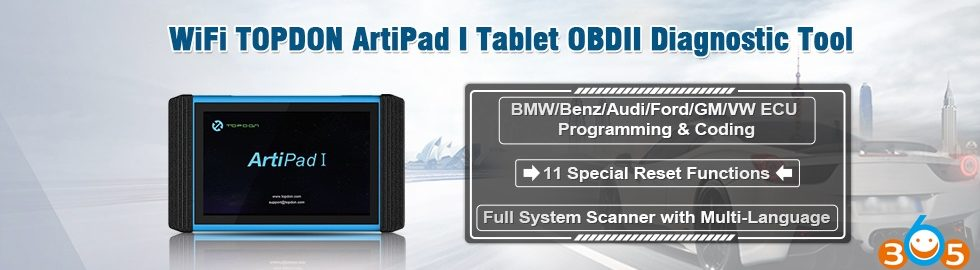 WiFi-TOPDON-ArtiPad-I-Tablet-OBDII-Diagnostic-Tool-2