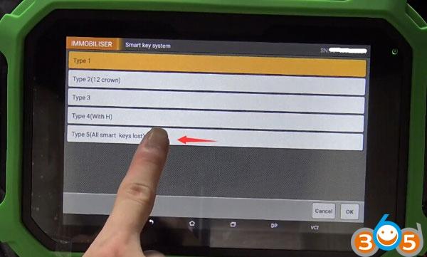 obdstar-x300-pad2-toyota-smart-akl-4