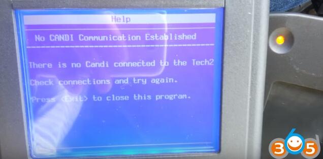 tech2-no-candi-communication-established