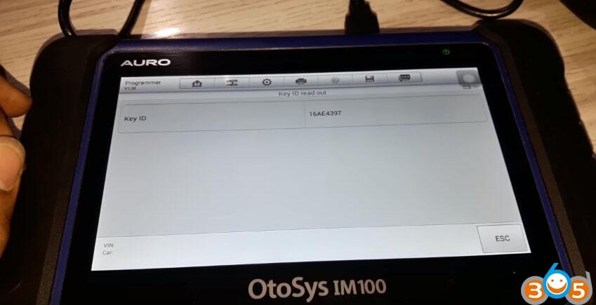 OTOSYS-IM100-unlock-bmw-cas3-remote-10