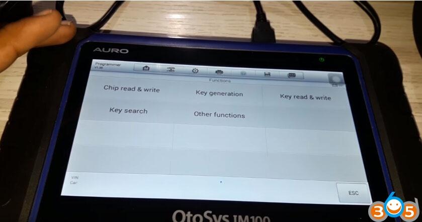 OTOSYS-IM100-unlock-bmw-cas3-remote-4